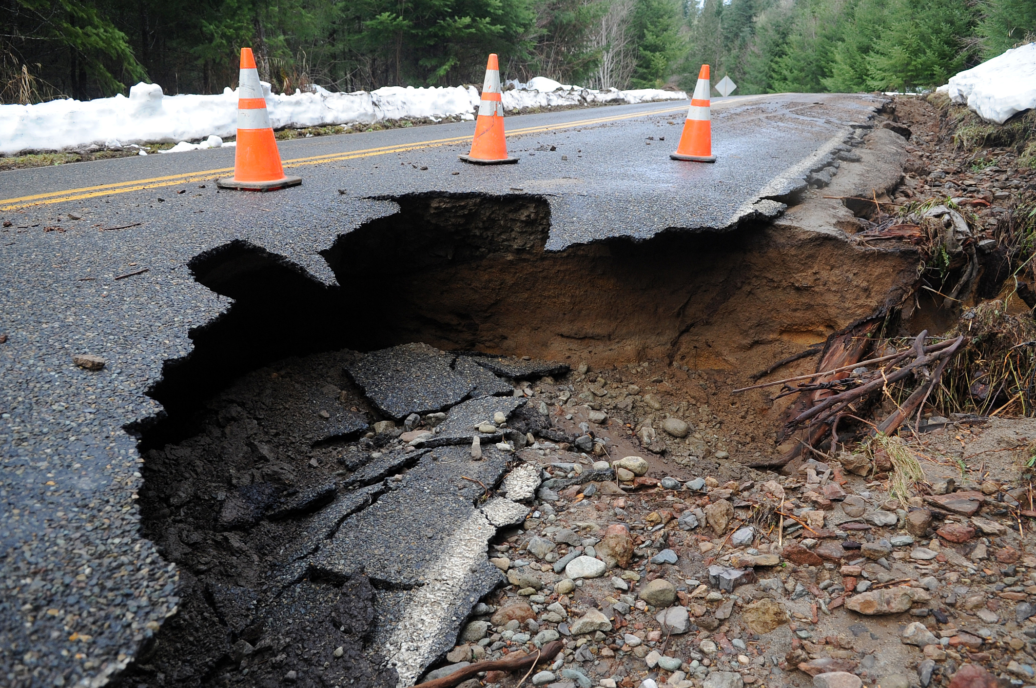 Look Out Below: Sinkholes Spike in Recent Years