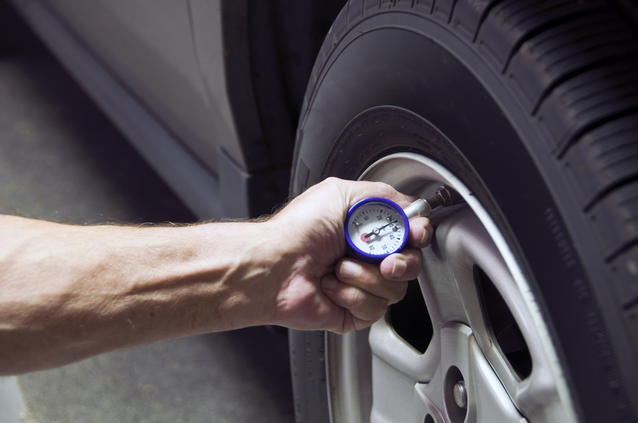 How To: Check Tire Pressure