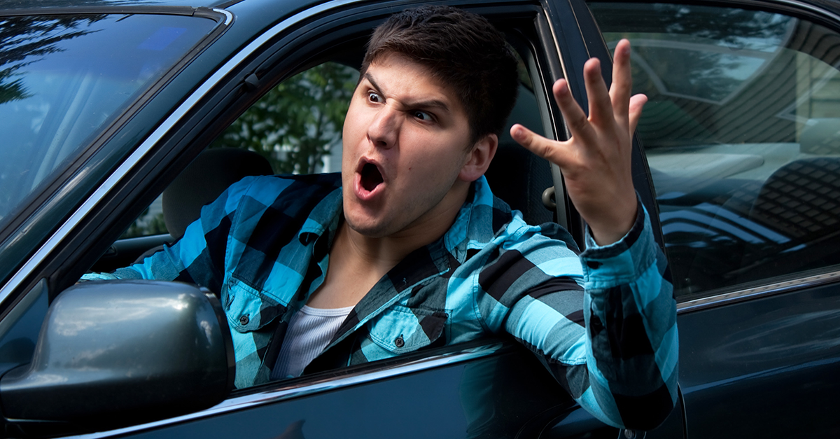 Teens, Road Rage: Is It All In Their Heads?