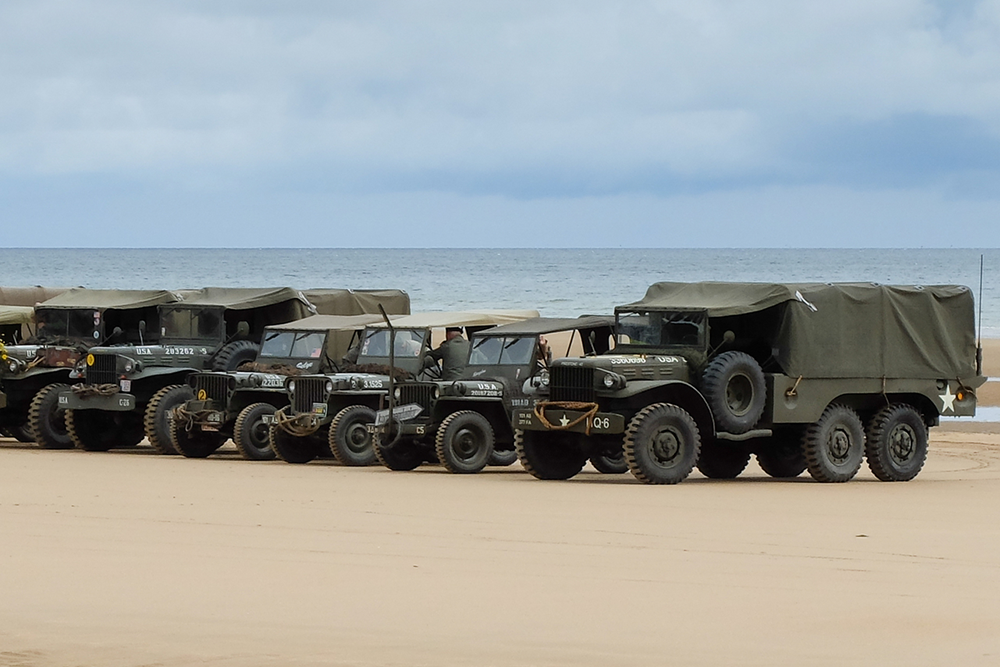 D-Day Anniversary: Vehicles Deployed In Normandy