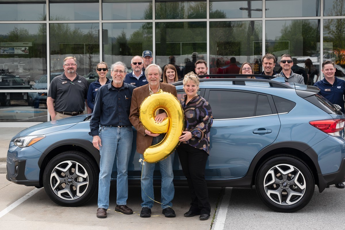 Subaru Of America, Inc. Sells Nine-Millionth Vehicle In U.S.