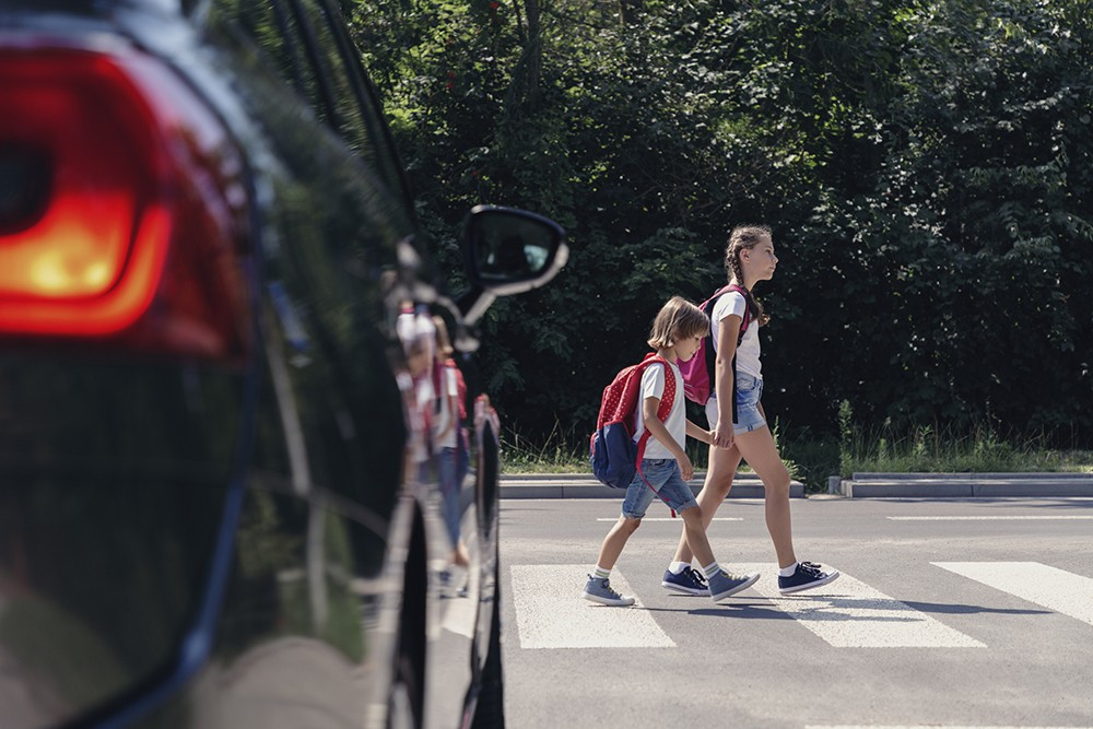 Agencies Sound Alarm For Back-To-School Traffic, Accidents