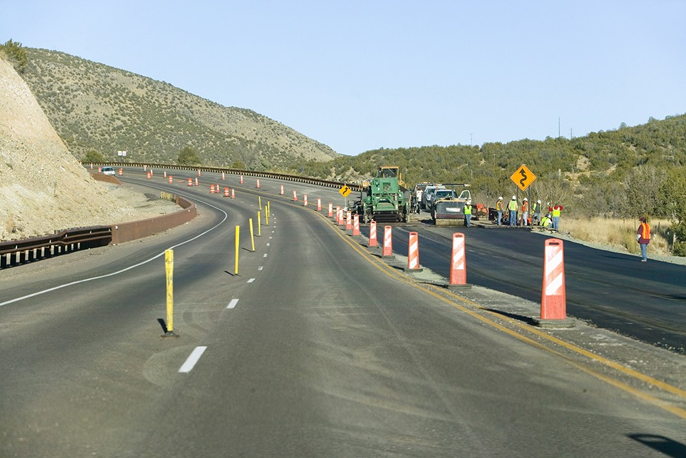 Traveling Work Zone Memorial Promotes Cone Zone Safety