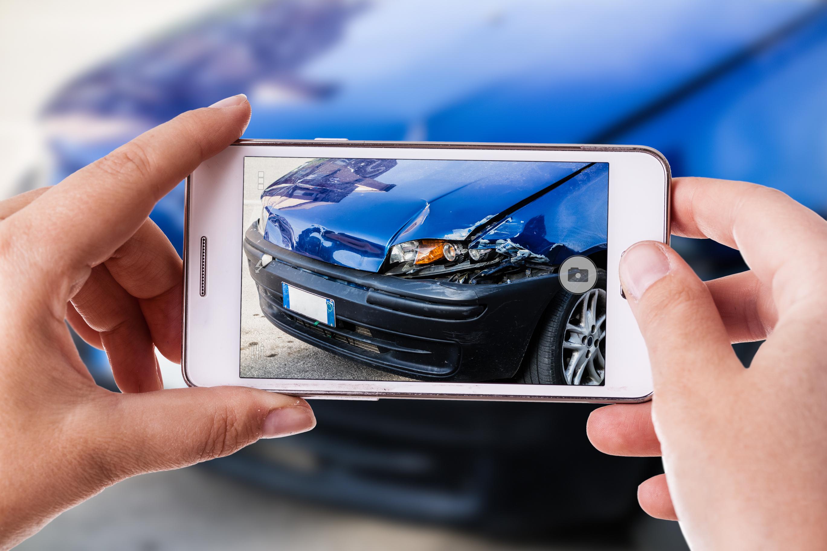 Using Smartphone After Crash