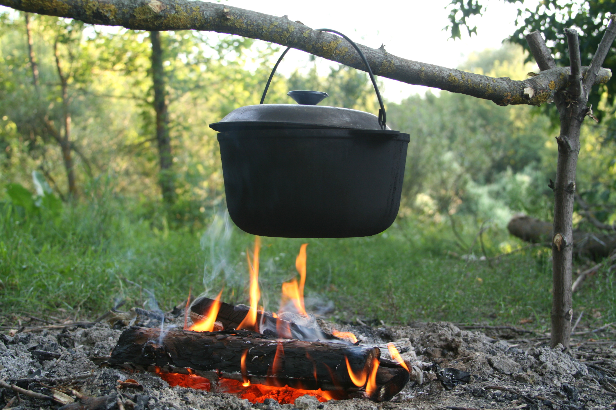 Campers Once Again Join the Season's Timeless Melting Pot