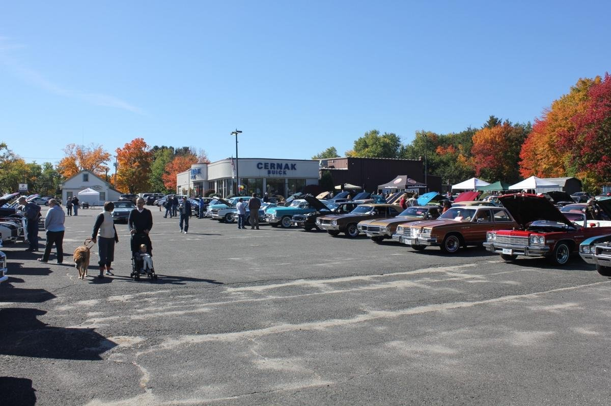 Buicks In The Fall 2017, Buick Only Car Show