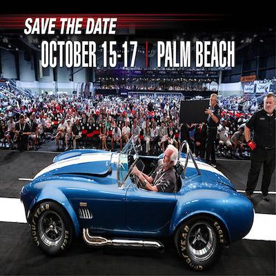 Barrett-Jackson Palm Beach Auto Show